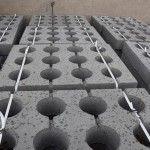 Płyty betonowe ażurowe